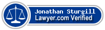 Jonathan Patrick Sturgill  Lawyer Badge