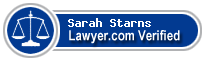 Sarah Sterling Starns  Lawyer Badge