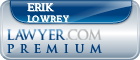 Erik M Lowrey  Lawyer Badge