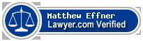 Matthew Robert Effner  Lawyer Badge