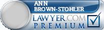 Ann Michelle Brown-Stohler  Lawyer Badge