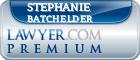 Stephanie Mari Cadavid Batchelder  Lawyer Badge