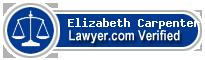 Elizabeth B Carpenter  Lawyer Badge