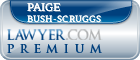 Paige C Bush-Scruggs  Lawyer Badge