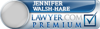 Jennifer M. Walsh-Hare  Lawyer Badge