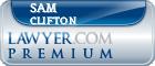 Sam Clifton  Lawyer Badge
