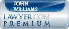 John Francis Williams  Lawyer Badge