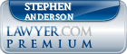 Stephen A Anderson  Lawyer Badge