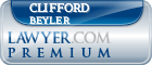 Clifford Alfred Beyler  Lawyer Badge