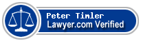 Peter Andrew Timler  Lawyer Badge