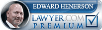 Edward Carlisle Henderson  Lawyer Badge