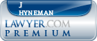 J Brian Hyneman  Lawyer Badge