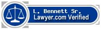 L. Grant Bennett Sr.  Lawyer Badge