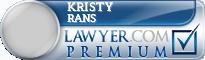 Kristy Marie Rans  Lawyer Badge