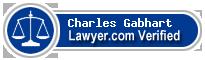 Charles Paige Gabhart  Lawyer Badge