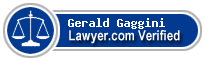 Gerald Gaggini  Lawyer Badge