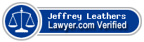 Jeffrey Dean Leathers  Lawyer Badge