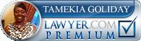 Tamekia R. Goliday  Lawyer Badge