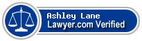 Ashley Nobile Lane  Lawyer Badge