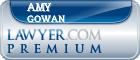 Amy Carol Gowan  Lawyer Badge