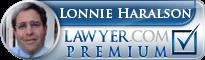 Lonnie J. Haralson  Lawyer Badge