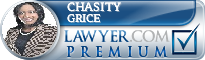 Chasity Sharp Grice  Lawyer Badge