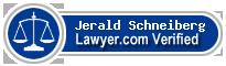 Jerald Alan Schneiberg  Lawyer Badge