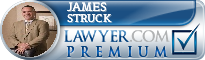 James Struck  Lawyer Badge