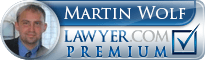 Martin Wolf  Lawyer Badge