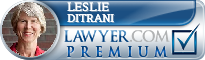 Leslie DiTrani  Lawyer Badge