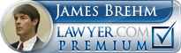 James F. Brehm  Lawyer Badge
