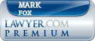 Mark Fox  Lawyer Badge