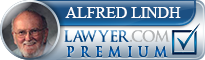 Alfred J. Lindh  Lawyer Badge