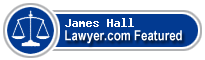 James P. Hall  Lawyer Badge
