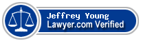 Jeffrey Alexander Young  Lawyer Badge