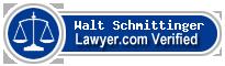 Walt Fritz Schmittinger  Lawyer Badge