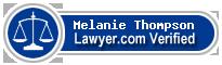 Melanie J. Thompson  Lawyer Badge