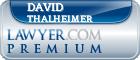 David S. Thalheimer  Lawyer Badge
