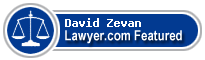 David Zevan  Lawyer Badge