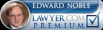 Edward S. Noble  Lawyer Badge