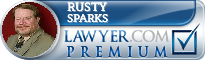 Rusty Sparks  Lawyer Badge
