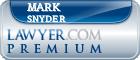 Mark Snyder  Lawyer Badge