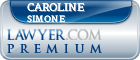 Caroline Simone  Lawyer Badge