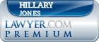 Hillary Arlene Jones  Lawyer Badge