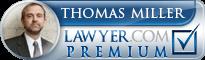 Thomas P Miller  Lawyer Badge