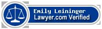 Emily Leininger  Lawyer Badge