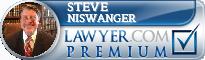 Steve Niswanger  Lawyer Badge