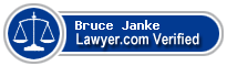 Bruce C. Janke  Lawyer Badge