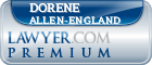 Dorene M. Allen-England  Lawyer Badge