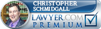 Christopher Schmidgall  Lawyer Badge